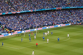 Rangers F.C. - The 2008 UEFA Cup Final in Manchester which Rangers contested.