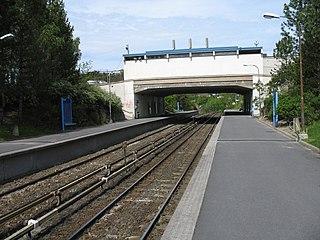 Ulsrud (station) railway station in Østensjø, Norway