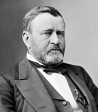 1872 United States presidential election in California - Image: Ulysses Grant