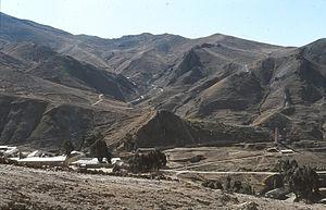 Uncía Municipality - Landscape near Uncía