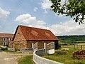 Une toiture de Peyrelongue-Abos.JPG