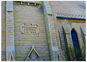 First Baptist Congregational Church - Building designation for the church
