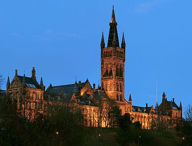 University of Glasgow Gilbert Scott Building - Feb 2008-2