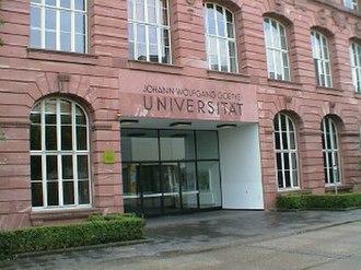 University of Frankfurt Institute for Social Research - The University of Frankfurt am Main