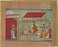 Unknown Indian (Bikaner) - The Marriage of Krishna and Rukmini - Google Art Project.jpg