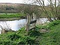 Unusual seat on the banks of the Stour - geograph.org.uk - 371264.jpg