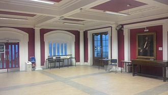 Dundee Law School - The lobby of the Scrymgeour Building