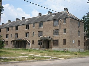 Magnolia Projects - Magnolia Street Housing Project in 2006