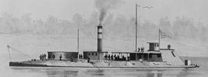 USS Neosho (1863) - Image: Uss Neosho 1863