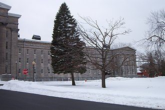 Utica Psychiatric Center - Image: Utica State Hospital right December 2007