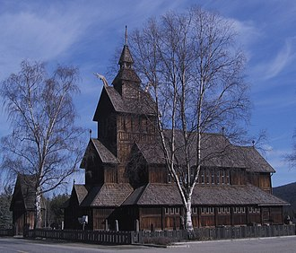 Henrik Bull - Uvdal Church, Uvdal.