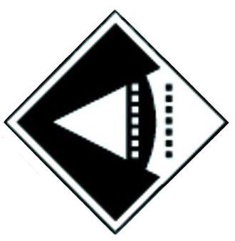 VisionArt - VisionArt diamond logo, designed by Bethany Berndt-Shackelford.