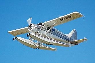 De Havilland Canada DHC-2 Beaver - A de Havilland Canada DHC-2 Beaver Mk1 on floats