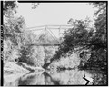 VIEW OF BRIDGE FROM WEST - Saluda 1 Bridge, Spanning Saluda River on SC Route 39, Chappells, Newberry County, SC HAER SC,36-CHAP.V,1-3.tif