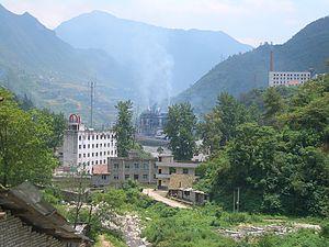 Xingshan County - Image: VM 5167 Xingshan County Baishahe Village