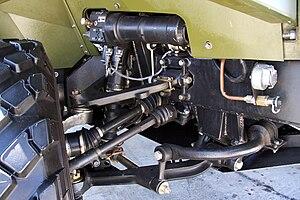 VPK-3927 Volk - VPK-3927 Volk elements of active adjustable suspension