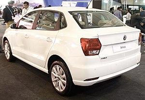 Volkswagen Ameo - Image: VW Ameo rear