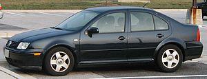 1998-2005 Volkswagen Jetta sedan photographed ...