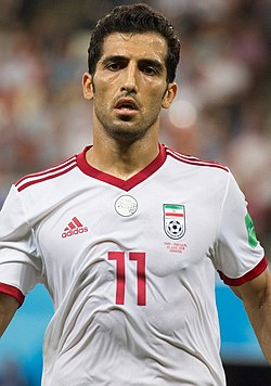 Vahid Amiri at IRNPOR match 2018 FIFA World Cup.jpg