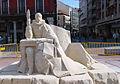 Valladolid esculturas arena Cervantes 01 ni.jpg
