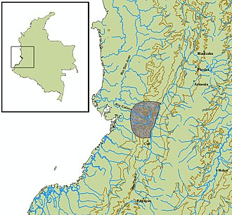 Valle del Cauca Department - Location of the Yotoco culture (0–1200 BC)