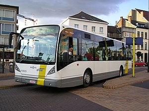"Flemish Region - Bus of ""De Lijn"""