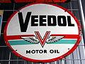 Veedol motor oil, enamel advertising sign.JPG