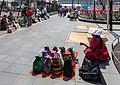 Vendedores en la Catedral Metropolitana, México D.F., México, 2013-10-16, DD 74.JPG