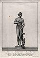 Venus (Aphrodite). Engraving by F. Piranesi, 1781, after T. Wellcome V0036078.jpg