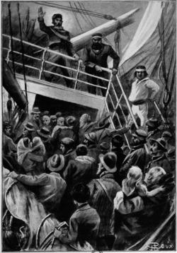 Verne - Les Naufragés du Jonathan, Hetzel, 1909, Ill. page 58