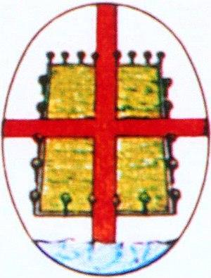 Brtonigla - Italian-period coat of arms (1920-1947)