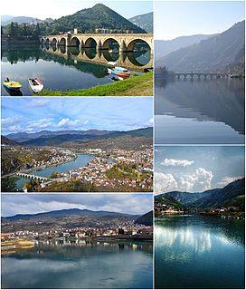Višegrad Town and municipality in Republika Srpska, Bosnia and Herzegovina
