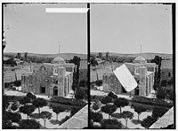 Via Dolorosa, beginning at St. Stephen's Gate. Church of St. Anne. LOC matpc.00879.jpg