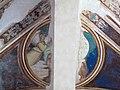 Via angelica, cappella di s. pietro martire, volta con evangelisti dell'inizio del xv sec. 03.JPG