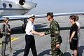 Vice Admiral Frank Rosenius at Hunter Army Airfield, Georgia 1999.JPEG