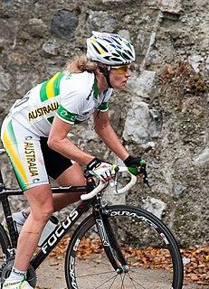 Vicki Whitelaw Australian cyclist