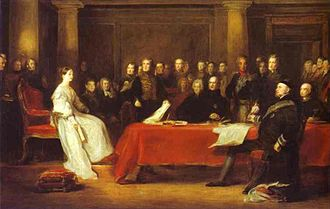 Privy Council of the United Kingdom - Queen Victoria convened her first Privy Council on the day of her accession in 1837.