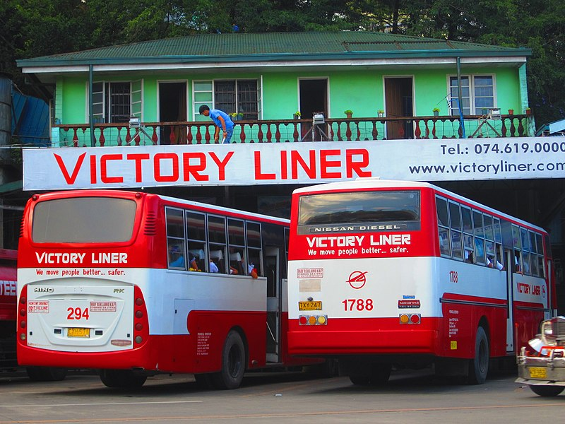 File:Victory Liner's former Baguio Terminal in Governor's Pack Road,.jpg