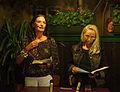 Vienna 2013-08-13 Sittl - 'in memoriam Rolf Schwendter' 048 From left, Helga Eichler, Christa Kern.jpg