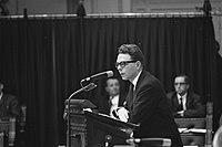 Vietnamdebat Tweede Kamerlid Erik Visser (D66) aan het woord, Bestanddeelnr 921-0503.jpg