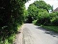 View along Water Lane near Merry Mead Farm - geograph.org.uk - 884890.jpg