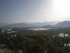 Žabljak Crnojevića - Image: View from Zabljak Crnojevica