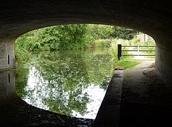 View from the canal road bridge (geograph 1962186).jpg