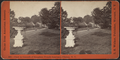 View in grounds of Houghton Female Seminary, Clinton, N.Y, by Walker, L. E., 1826-1916.png