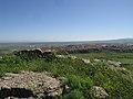 View of Macomer from ancient Nuraghe.jpg