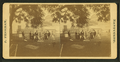 View of a group pausing during a croquet game, by Freeman, J. (Josiah).png