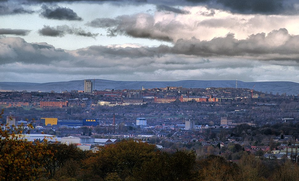 View over Ashton-under-Lyne 2007 (editted)
