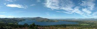 Caragh Lake - View of Caragh Lake from Caragh Lake Mountain.