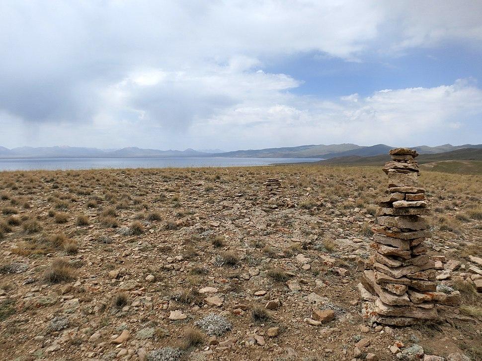 View to Son-Kol lake, Kyrgyzstan - panoramio