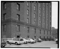 View to north. Detail south side. - Marshall Field River Warehouse, 310 West Polk Street, Chicago, Cook County, IL HABS ILL,16-CHIG,167-8.tif